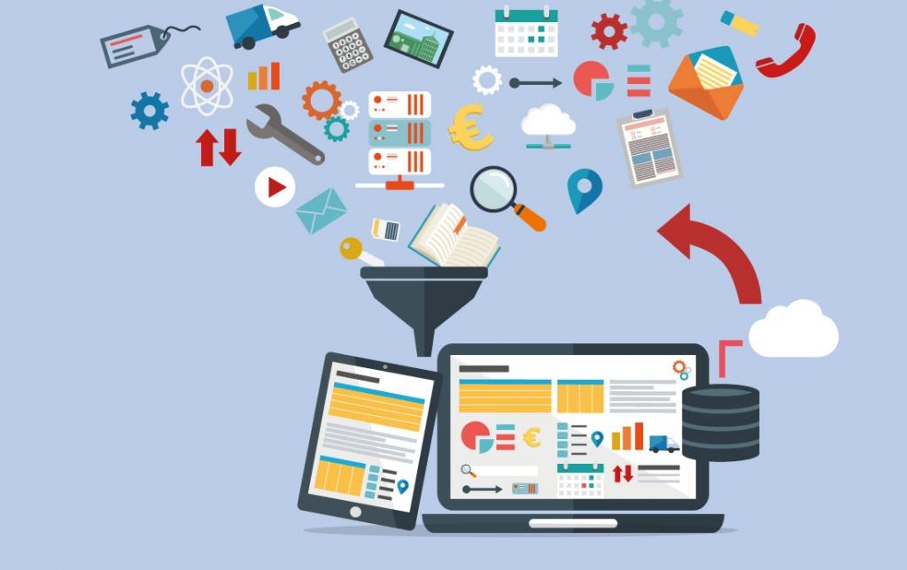 organizzazione dati con gestionali e database